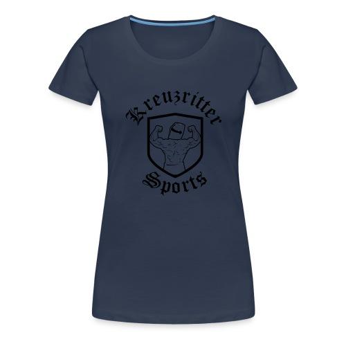 Kreuzritter Sports - Frauen Premium T-Shirt