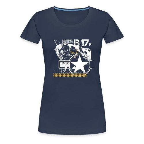b-17-para-negro-png - Camiseta premium mujer