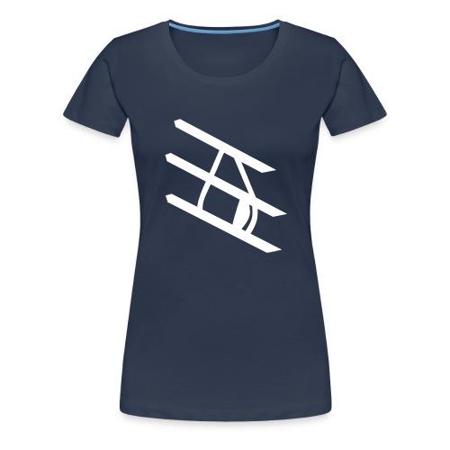 Tropfen Hoodie - Frauen Premium T-Shirt