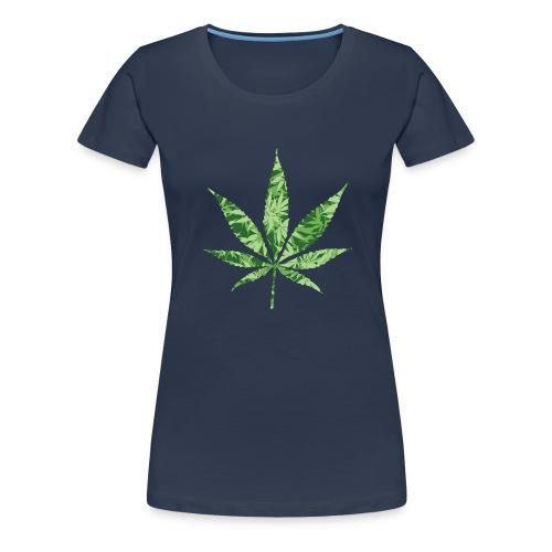 Weed Leaf - Vrouwen Premium T-shirt