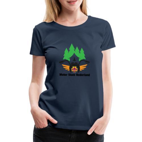 logo motorstam - Vrouwen Premium T-shirt