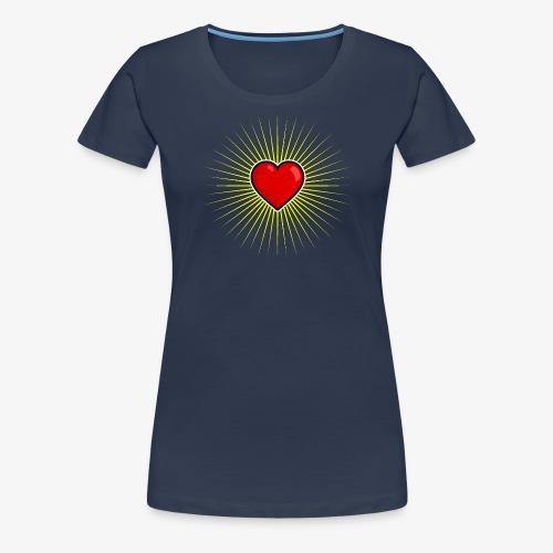Love Star - T-shirt Premium Femme