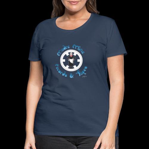PC34 - madre mine records tapes la señora arcos - Camiseta premium mujer