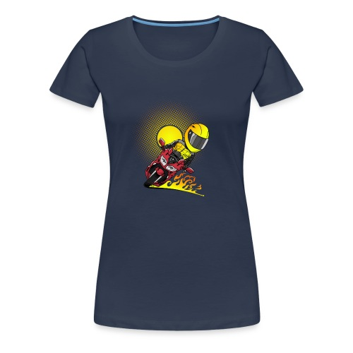 0791 fjr ROOD sun - Vrouwen Premium T-shirt