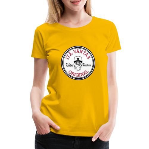Itä-Vantaa Original - Naisten premium t-paita