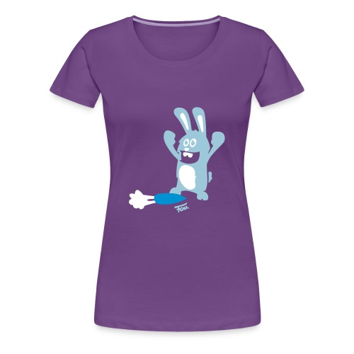 Hase Sieger - colored - Frauen Premium T-Shirt