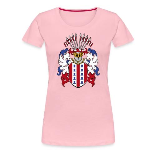 wappen amelunxen historisch - Frauen Premium T-Shirt