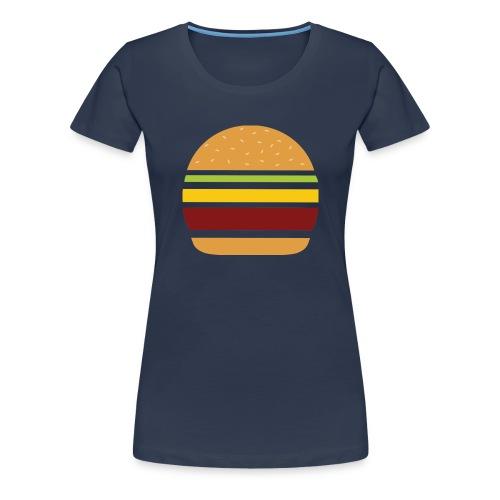 Logo Burger Panhamburger - T-shirt Premium Femme
