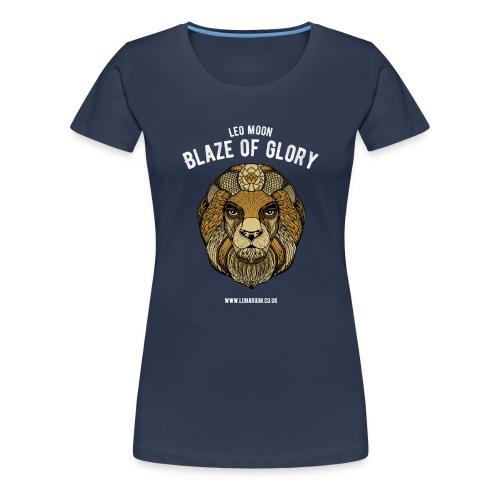 Leo Moon Dark - Women's Premium T-Shirt