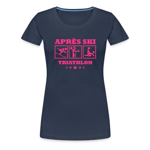 Apres Ski Triathlon | Apreski-Shirts gestalten - Frauen Premium T-Shirt
