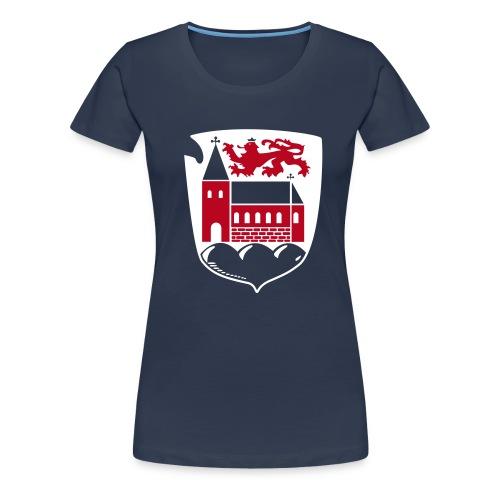 Wappen für dunklen Stoff - Frauen Premium T-Shirt