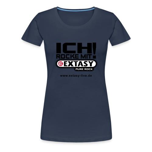 extasy 3farbig - Frauen Premium T-Shirt