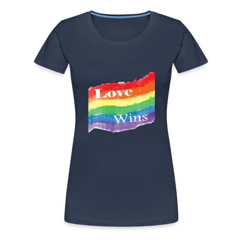Love-Wins - Women's Premium T-Shirt
