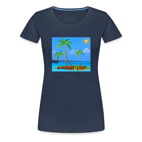Cool summer coconu - Vrouwen Premium T-shirt