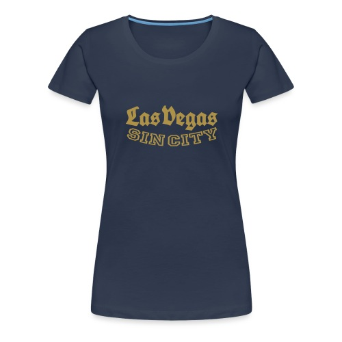 LAS VEGAS SIN CITY - Women's Premium T-Shirt