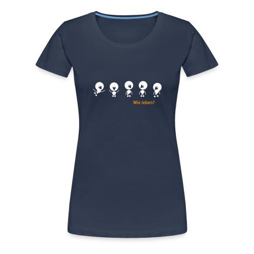 cucu Vögel - Frauen Premium T-Shirt