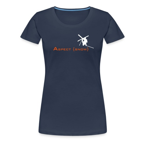aspectskiwhiteorange - Women's Premium T-Shirt