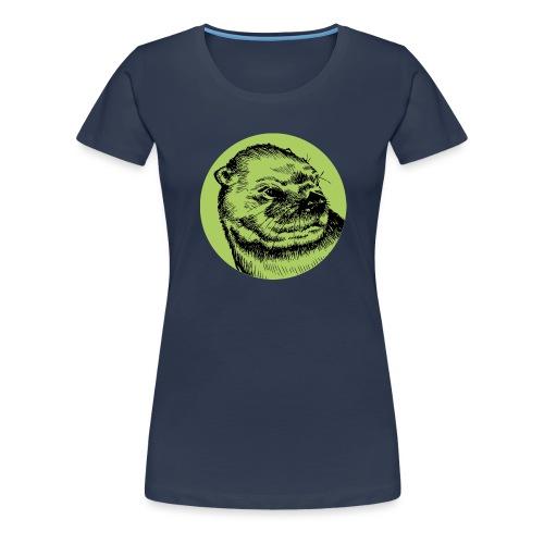 Une Loutre Verte - T-shirt Premium Femme