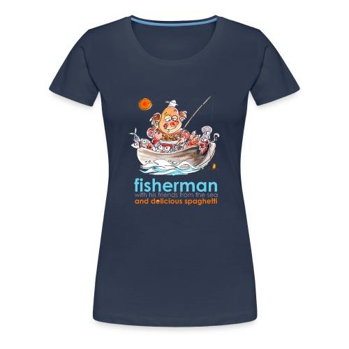Fisherman - Maglietta Premium da donna