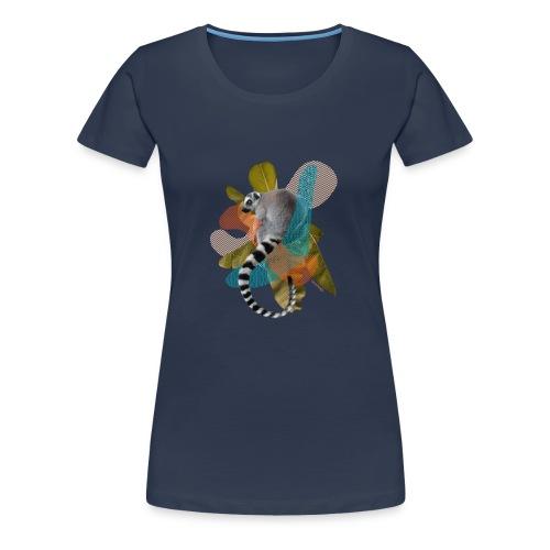 Maki Catta layers - T-shirt Premium Femme