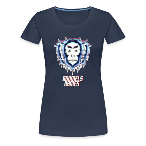 GoomelsGames logo & text teenager t-shirt. - Vrouwen Premium T-shirt