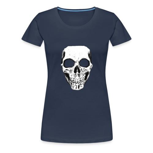 totenschädel.png T-Shirts - Frauen Premium T-Shirt