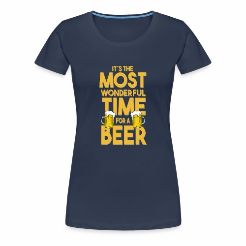 Time for a Beer - Frauen Premium T-Shirt