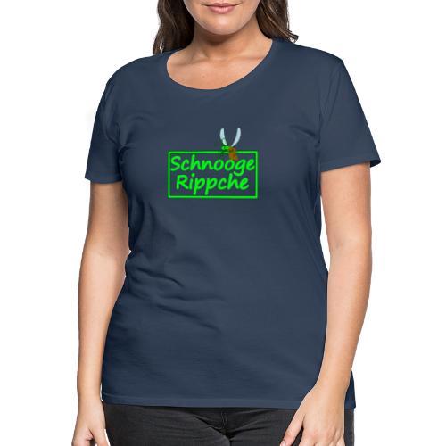 Schnoogerippche - Frauen Premium T-Shirt