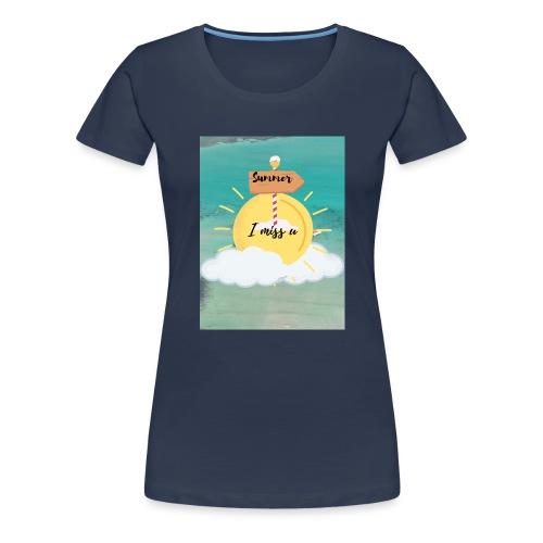 Summer feeling - Vrouwen Premium T-shirt
