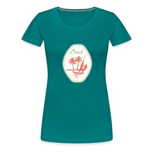 Beach - Women's Premium T-Shirt
