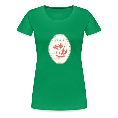 Beach - Women's Premium T-Shirt