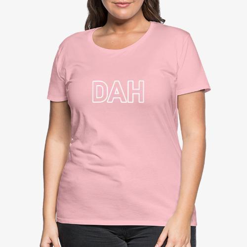 DAH_140%_Vektor_Outline_W - Frauen Premium T-Shirt