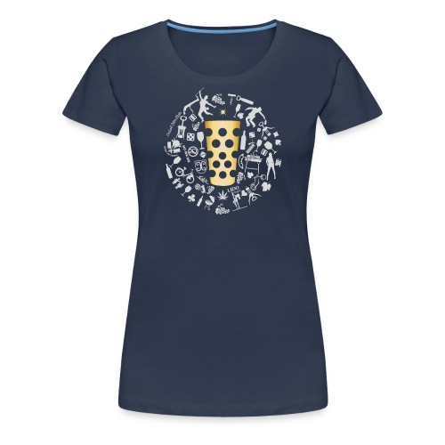 Michl-gold - Frauen Premium T-Shirt