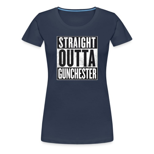 Straight Outta Gunchester - Women's Premium T-Shirt