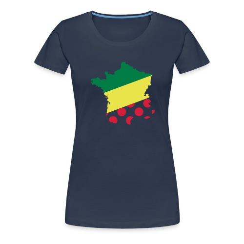 Tour de France - Frauen Premium T-Shirt