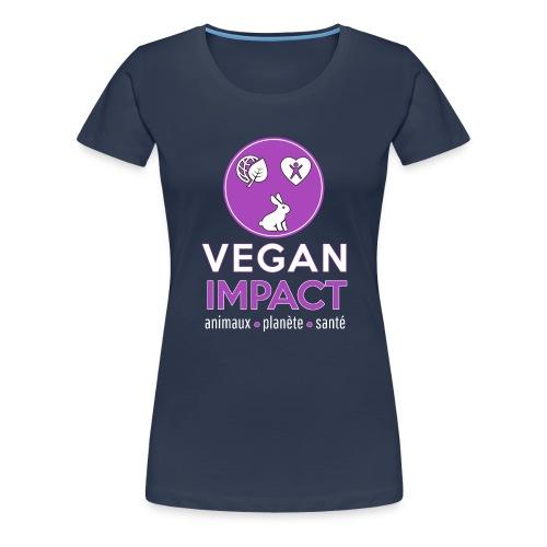 Logo carré pour t shirt noir png - T-shirt Premium Femme