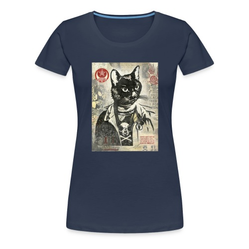 Cat Graffity - Frauen Premium T-Shirt