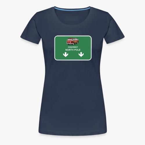 autoroute pour le pole nord - T-shirt Premium Femme