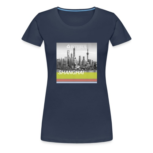 INTEBUS-Motiv-Shanghai - Women's Premium T-Shirt