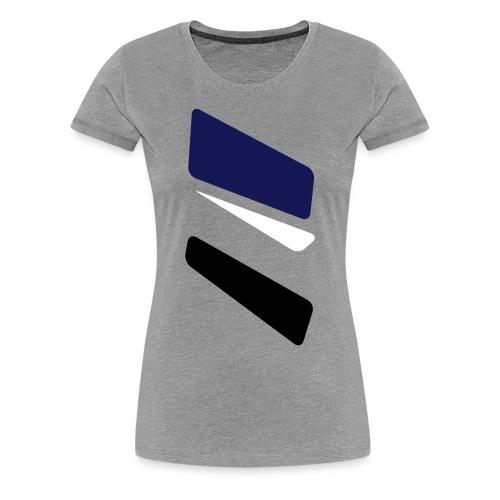 3 strikes triangle - Women's Premium T-Shirt