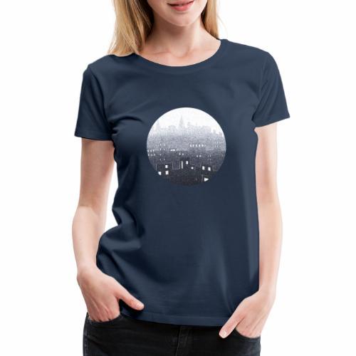 city hall snow blue - T-shirt Premium Femme