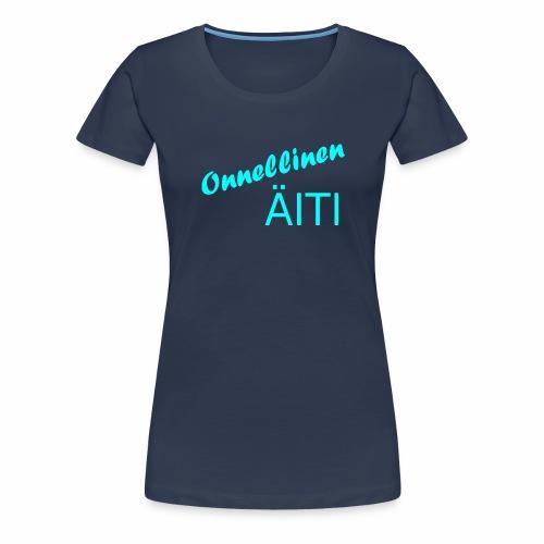 Onnellinen Äiti - Naisten premium t-paita