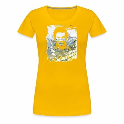 Pablo Escobar distressed - Frauen Premium T-Shirt