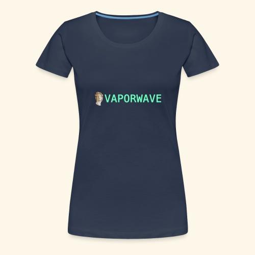 Roman Statue Vaporwave - T-shirt Premium Femme