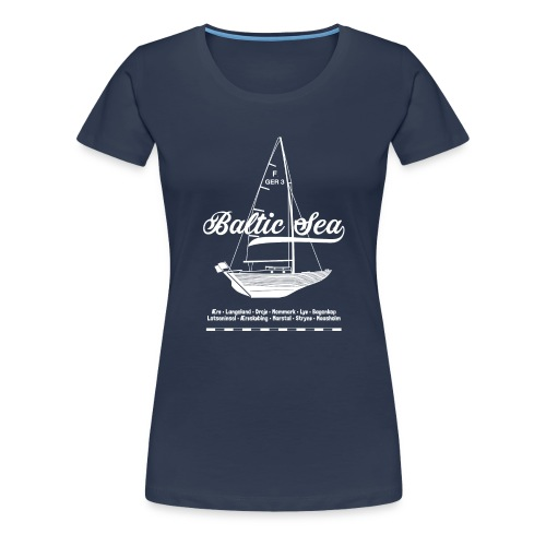 Baltic Sea Folkeboot - Frauen Premium T-Shirt