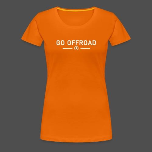 idź off-road - Koszulka damska Premium