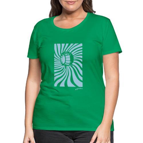 wirbel - Frauen Premium T-Shirt