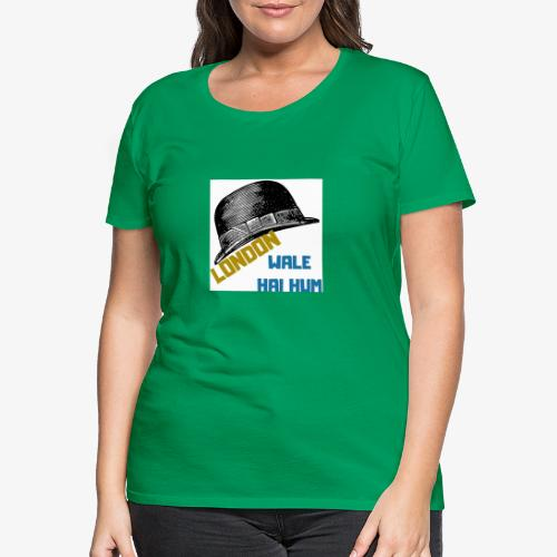 LONDON WALE - Premium-T-shirt dam