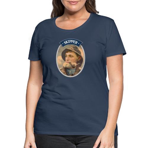 Skipper - Premium-T-shirt dam