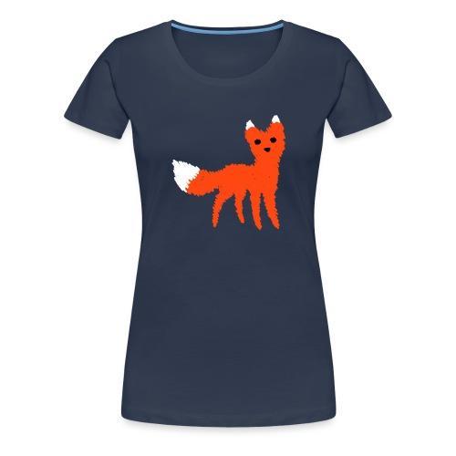 Fox - Premium T-skjorte for kvinner